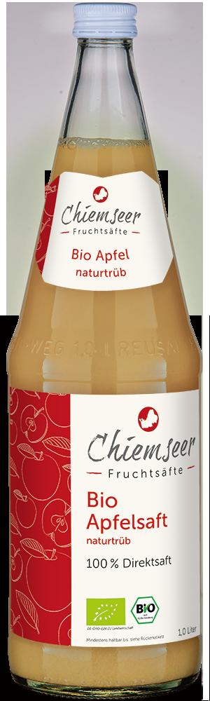 BIO Apfelsaft naturtrüb | Chiemseer Fruchtsäfte