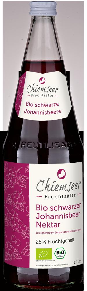 BIO schwarzer Johannisbeer Nektar   Chiemseer Fruchtsäfte