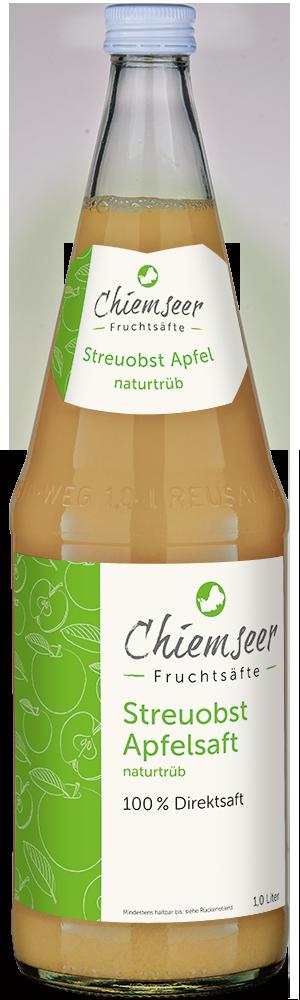 BIO Streuobst Apfelsaft naturtrüb | Chiemseer Fruchtsäfte