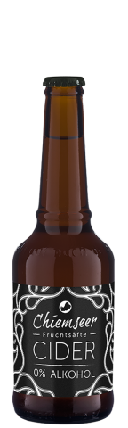 CIDER 0% Alkohol | Chiemseer Fruchtsäfte